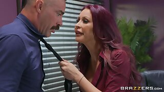 Hot buxom MILF chief honcho Monique Alexander and big-dicked suppliant Charles Dera