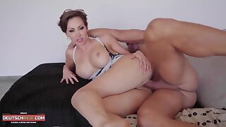 Lecherous MILF whore heart-stopping adult clip
