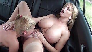 Libertine MILF lesbians crazy xxx video