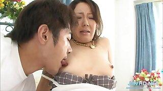Nipponese lewd whore inane porn clamp