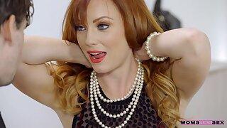 Lustful MILF Dani Jensen exciting sex video
