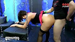 German Goo Girls - Mature babe Nathalie loves sperm