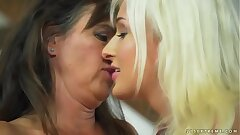 Mature woman and her younger lesbian friend - Mariana and Jack the ripper Lee