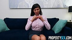 PropertySex Factory Employee Enjoys Fucking Hot Real Estate Agent
