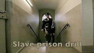Dominatrix Mistress April - Resulting Prison Drill - Cell 45