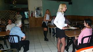 Anal with hot maids elbow restaurant