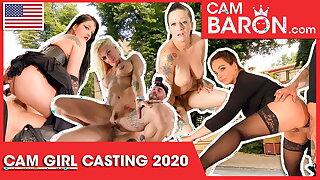 Compilation: 3 chicks undergo hot CamBaron goo! Cambaron.com