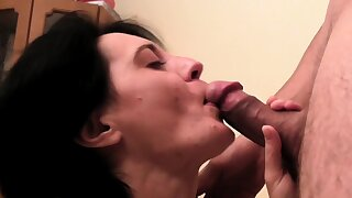 European MILF with small pair is keep a sharp lookout for fucking