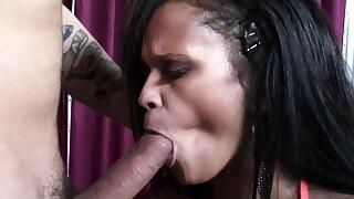 Hot babe moans while she's slammed hard