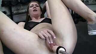 Muscular Thin Redhead Gets The Fuck Stick