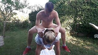 Deutsche Escort Milf Mama Grainy 41 Outdoor Garden Coition