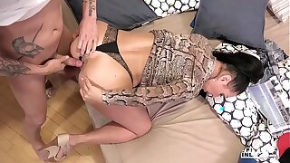 KINKY INLAWS - #Eva Ann - Russian Milf Forbidden Anal Sex Wide Young Stepson