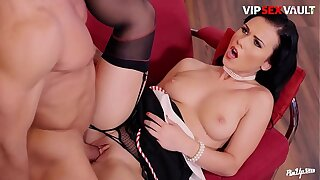 VIP SEX Bound - #Denise Sky - Hungarian MILF Blowjob And Pussy Licking Foreplay With Her Darling