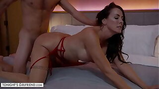 Tonight's Girlfriend - Super sexy MILF, Reagan Foxx, makes a fantasy geographically come to pass