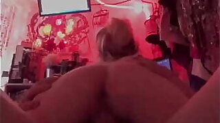 Fucking 9 inch cock on top