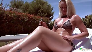 Have a passion your HOT MILF neighbor! Deepest voluptuous experience with real MILF!
