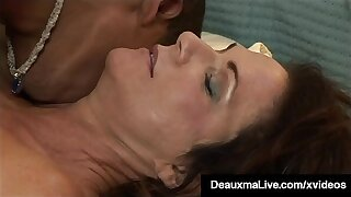 Hung Young Black Stud Fucks Hot Adult Mammy Deauxma!