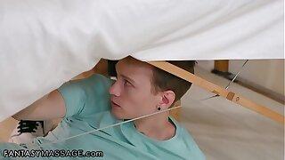 FantasyMassage Hot MILF Sarah Vandella Gets Banged By A 18yo Perv During Say no to Massage