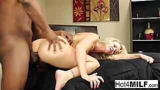 Simone returns for more black cock
