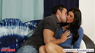 Hot mom India Summer gets pussy fucked with the addition of nailed
