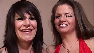 Two hot lesbian milf want connected with lick!