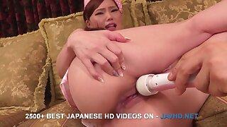Japanese Rabelaisian Aya Mikami imposing video