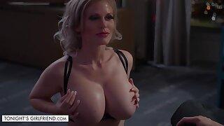 Mr Big bombshell Casca Akashova takes care of new customer - titjob and cock riding